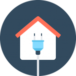 residential solar icon