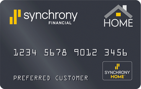 synchrony bank credit card
