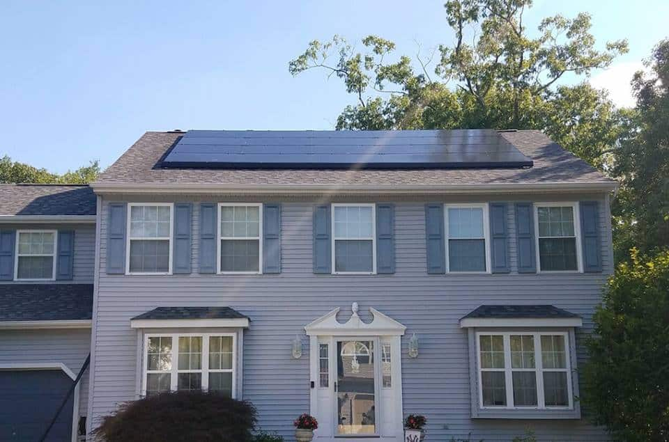 residential solar home