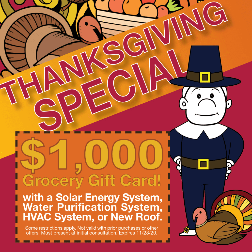Popup Ad for Thanksgiving Special